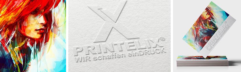 Visitenkarten Mit Blindprägung Drucken Bei Printelix De