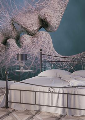 tapeten drucken lassen. Black Bedroom Furniture Sets. Home Design Ideas