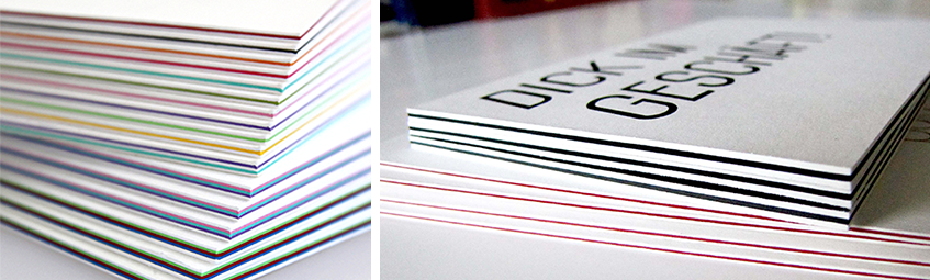 Visitenkarten Mit Farbkern Drucken Versandkostenfrei